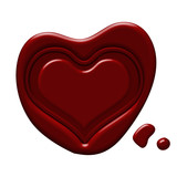 Heart Wax Seal