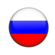 russia, flag button