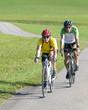 Training auf dem Fahrrad