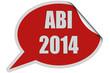 SP-Sticker rot curl oben ABI 2014