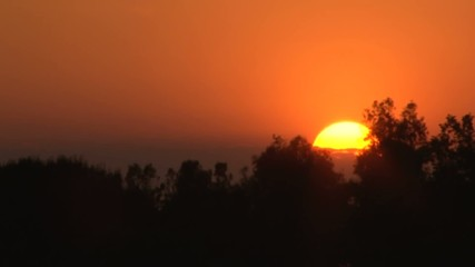 tramonto africa