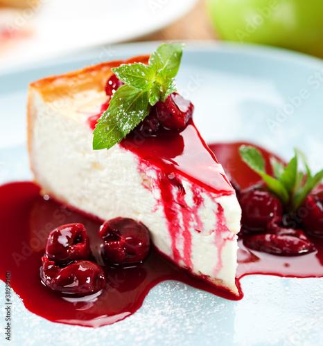 Dessert - Cheesecake © Ryzhkov