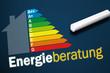 Tafel mit Energieberatung