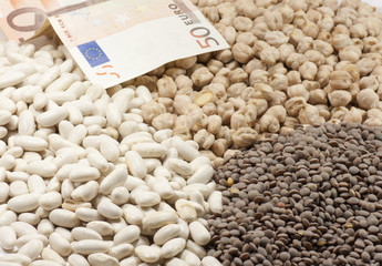 legumes and money