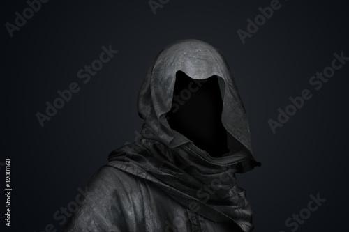 Leinwandbild Motiv Death in the hood concept