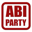 Stempel rot rel ABI PARTY