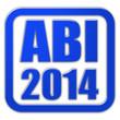 Stempel blau glas ABI 2014