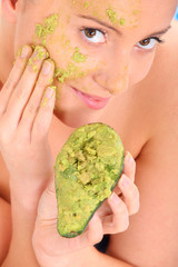 Avocado mask
