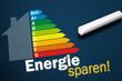 Tafel mit Energie sparen