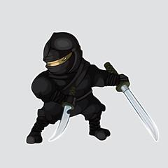 Ninja with two swords