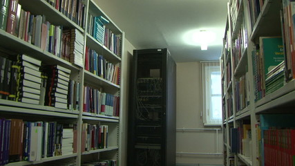 Server in the library