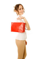 Going Home With Shopping Bag