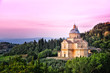 San Biagio cathedral at sunset, Montepulciano, Italy - 39007545
