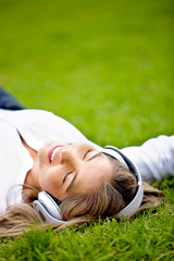 Relaxing with music