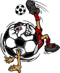Soccer Football Ball Player Cartoon