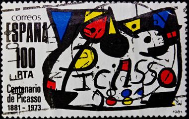 Stamp Spain
