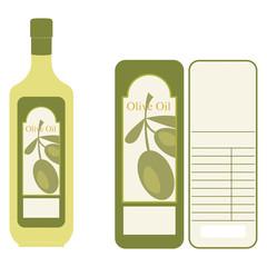 Etichette per Olio d'oliva