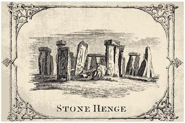 stone henge, stonehendge - vector