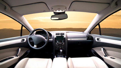 intérieur de voituree