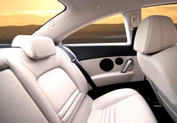 intérieur de voiture
