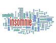 """Nuage de Tags """"INSOMNIE"""" (dépression sommeil fatigue somnifères)"""