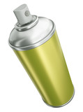 Fototapety Spray can isolated on white background