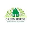 Logo Green House # Vector