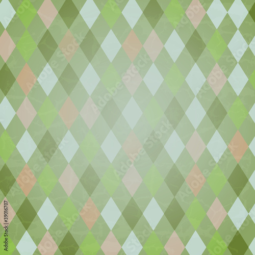 Vintage Harlequin Background