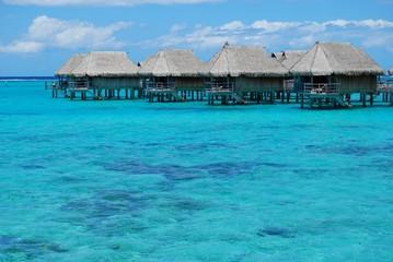 bungalow - french polynesia
