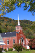 Historic church in West Virginia