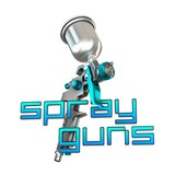 Spray Gun 3D Illustration on White Background