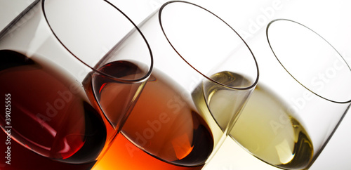 Keuken foto achterwand Wijn Verres de vin