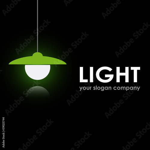 Logo bulb and electrician # Vector