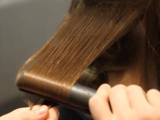 bouclage cheveux
