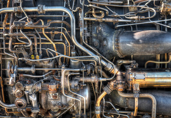 Jet Engine Plumbing