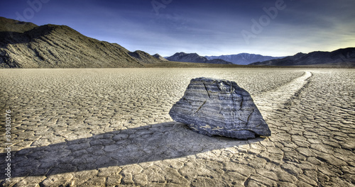 canvas print picture Racetrack Playa, Death Valley