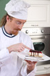 Funny young chef