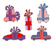 Cartoon Gift Cars.