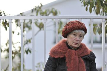 Depressed Senior Woman 10