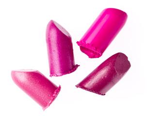 scraps of lipstick