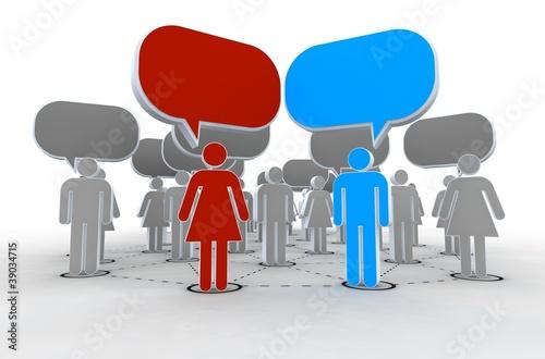 netzwerk sprechen