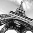 Leinwanddruck Bild - Tour Eiffel