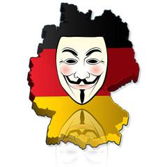 les anonymous en allemagne