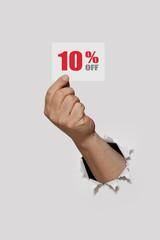 Sale 10 Percent Off