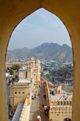Fort Amber, Jaipur, Rajasthan, Indien