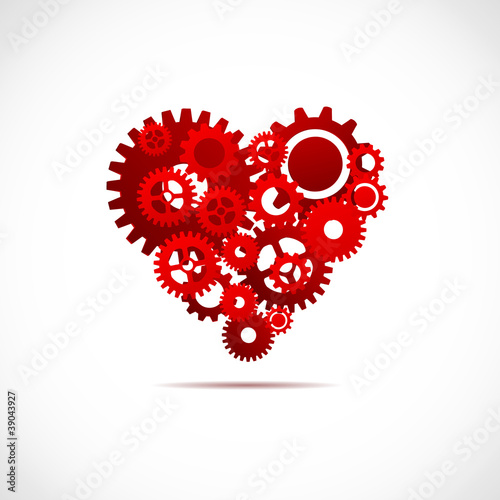 Perfect heart concept # Vector