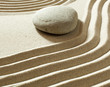 zen mineral still life