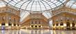 Leinwanddruck Bild - Milan, Vittorio Emanuele II gallery, Italy