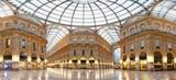 Mediolan, galeria Vittorio Emanuele II, Włochy