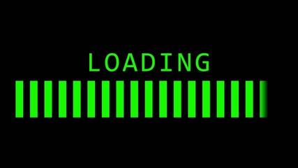 Pre-loading screen